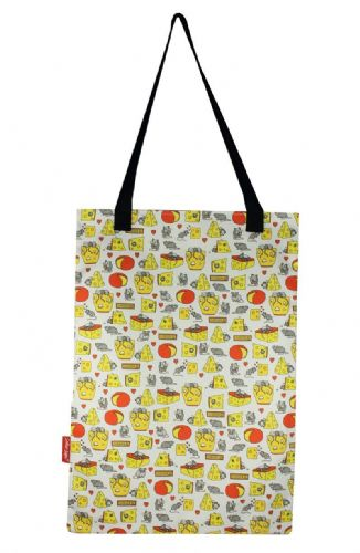 Selina-Jayne Mouse and Cheese Limited Edition Designer Tote Bag